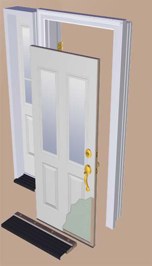 & Anatomy of an Exterior Door | Sill to Sash pezcame.com
