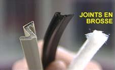 Joints en brosse